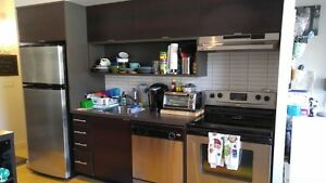 Studio(1 bed) 525pc, all appliances, great balcony, gym, bright