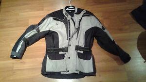 Manteau de moto pour hommes