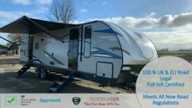 2021 Eurocruiser 110 American Caravan RV Touring Travel Trailer Seasonal