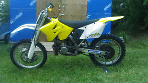 2003 RM 250 low hours on rebuild