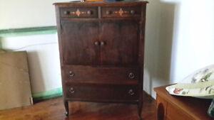 Antique Tall Dresser