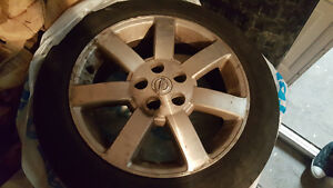 original nissan 17 inch mags