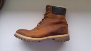 "6"" Premium Sherpa Timberland Boots"
