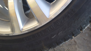 Set of 19 inch rims. All 4 with tires