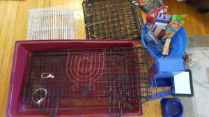 Guinea Pig Cage, House, travel cage, accessories