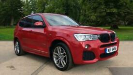 image for BMW X3 xDrive 30d M Sport Auto with N 4x4 Diesel Automatic