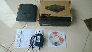 Thomson DCM476 cable modem - Teksavvy