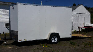 2017 Enclosed trailer 5'x12'x7' with EXTRA HEIGHT