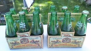 CANADA DRY 2000 MILLENNIUM LIMITED EDITION 6 BOTTLES AND CASE
