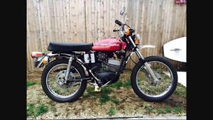 1974 harley davidson aerimachi sx125. Parts only