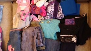 Lot of girl's clothes: size 6-8