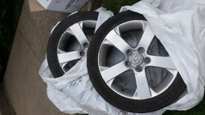 Roues Mazda 5 GT 17 pouces
