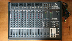 Peavey 12 Channel Professional Stereo Console/ Audio Mixer