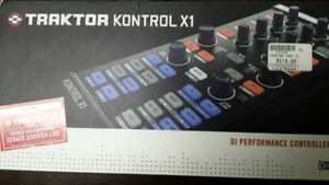 Native Instruments Traktor Kontrol X1 and DJ-Tech Mixer One