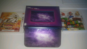 Nintendo 3DS XL Galaxy with games