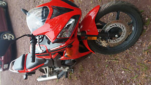 Sport Bike in Excellent shape. Lady drivin only. Honda CBR 125