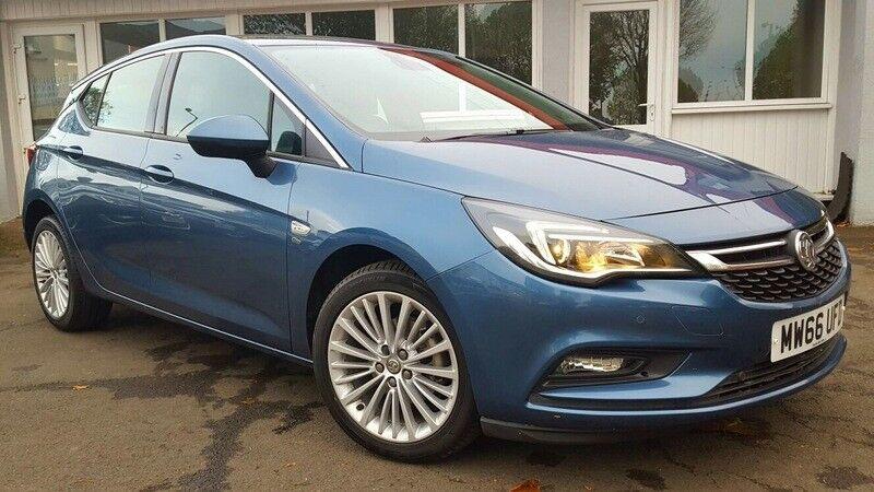 Vauxhall Astra 1.4I TURBO ELITE NAV 150PS (blue) 2017