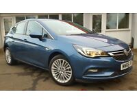 Vauxhall Astra 1.4I TURBO ELITE NAV 150PS (blue) 2017