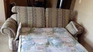 Sofa Bed with double mattress Campbelltown Campbelltown Area Preview