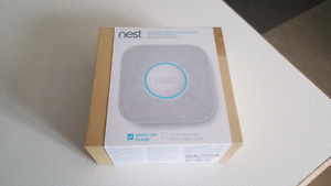 Detecteur fumee/CO2 nest wifi domotique