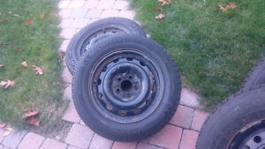 205 65 r 16 O205  rims and tires West Island Greater Montréal image 1