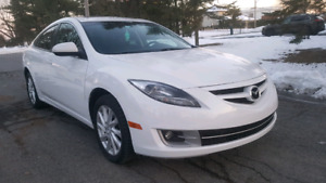 MAZDA 6 GT **CUIR/TOIT/MAGS**6995$**SEULEMENT 125 500KM**