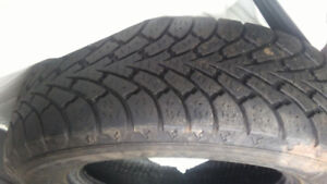 Four Nordic Winter Tires