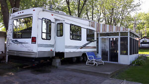 Roulotte a selette 36pds ( Fifth Wheel )