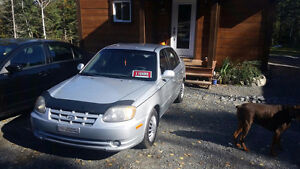 Hyundai accent special edition 2004 80000km
