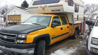 2006 chevy crew cab with camper