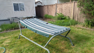 outdoor large frame hammock (pick up only)