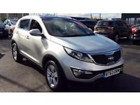 2014 Kia Sportage 1.7 CRDi ISG 2 5dr Manual Diesel Estate