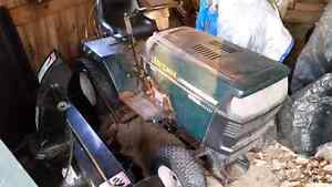 18.5 hp ride on lawn tractor