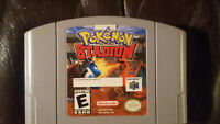 Jeux de Nintendo 64/N64 a vendre!pokemon stadium MINT CONDITION!