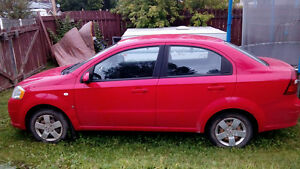 2007 Pontiac Wave Sedan - Parts Car