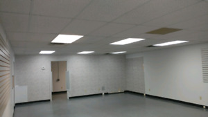 Complete ceiling - drop ceiling