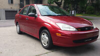 2000 Ford Focus SE Sedan only 108Km Mint Condition!