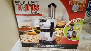 Bullet Xpress Trio Food Processor and Juicer