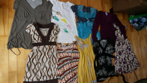 9d49b49a6974 Sm and med maternity clothes