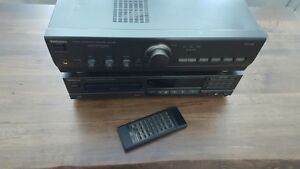 TECHNICS AMPLIFIER and CD player