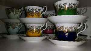 A qui la chance!Tasses de collections ROYAL ALBERT
