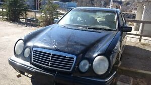 PARTING OUT: 1999 Mercedes E-Class