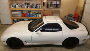SOLD!! 94 Chaste White Left Hand Drive RX7 SOLD!!