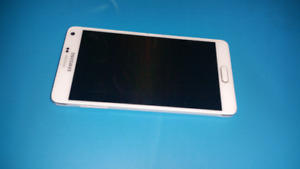 SAMSUNG NOTE4 WHITE 32 GB FACTORY UNLOCKED EXCELLENT SHAPE
