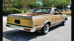 I'm wanting to purchase a 78 to 87 El Camino