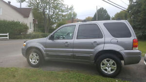 Ford Escape 2007 Limited 4x4 Full Equipé CUIR TOIT OUVRANT