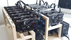 We sell BITCOIN Mining Riggs ! West Island Montreal