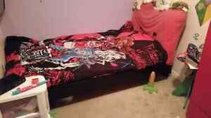 Child's single bed frame daughter outgrew  Peterborough Peterborough Area image 1