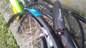 Bicycle Rain Fenders ( for Mountan and Road  bikes )