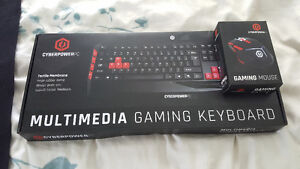 Cyberpower PC Gaming Keyboard and Mouse